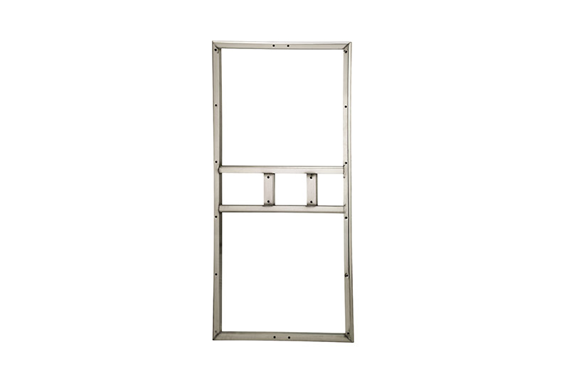 2-horsepower Chinese-type stainless steel semicircle frame