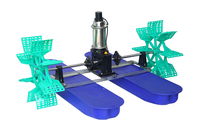What are the functions of the impeller aerator