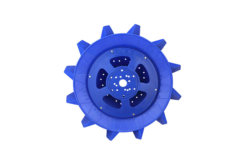 Use of impeller aerator