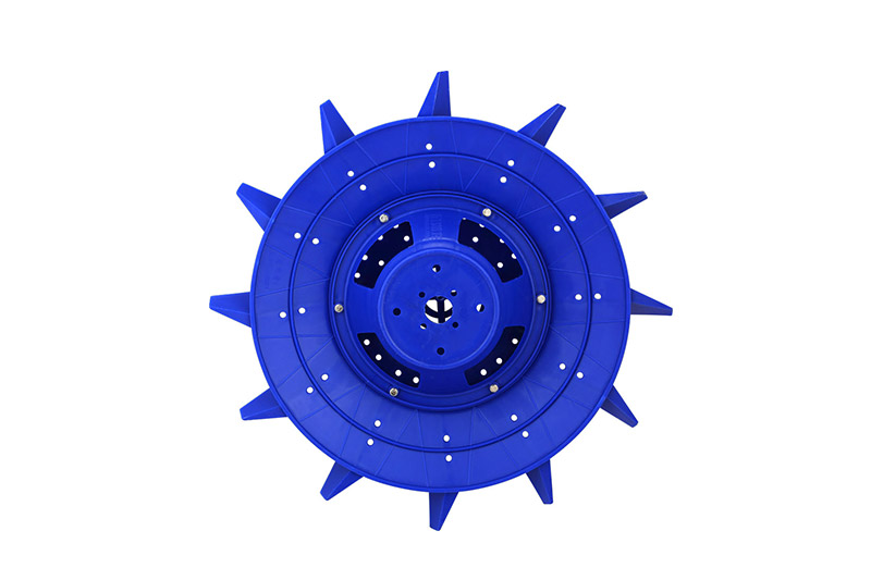 Guangdong-type 1.5kW plastic impeller Φ66cm