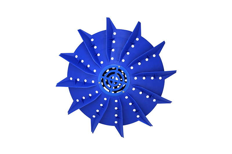 Chinese-type 1.5kW plastic impeller Φ66cm
