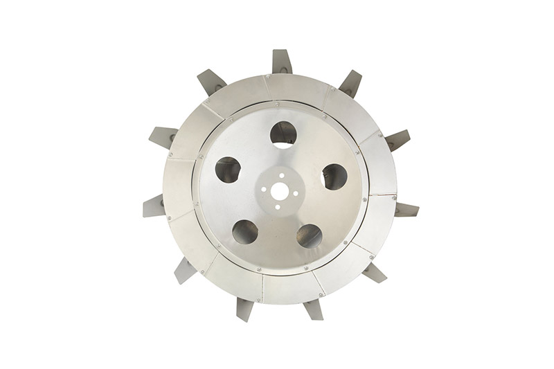 Chinese-type 3kW galvanized impeller Φ76cm