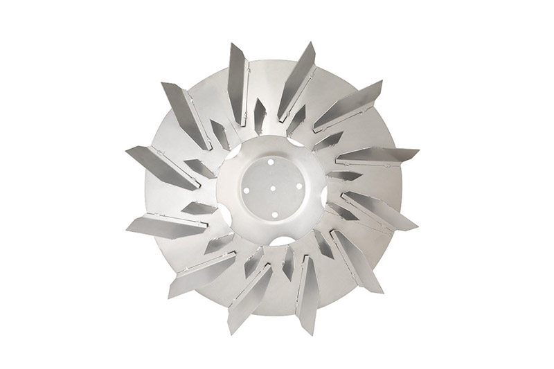 Galvanized double impeller Φ73cm