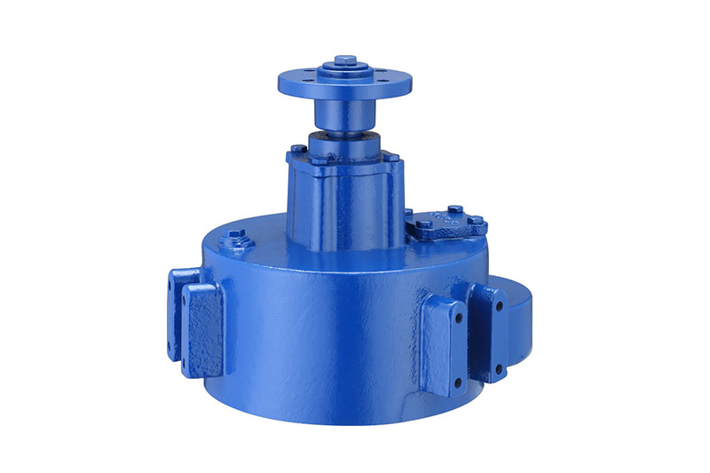 Big round box  3kW gearbox