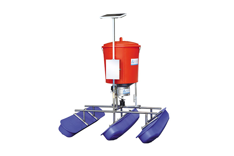 Solar Powered Automatic Shrimp Feeder Machine
